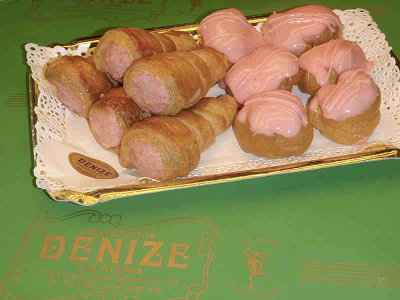Bignè e canoncini mignon e tradizionali