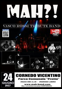 Sabato 24 giugno tributo a Vasco Rossi