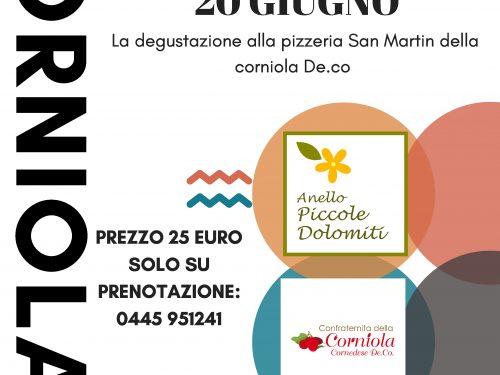 Degustazione presso la pizzeria San Martin 20 Giugno